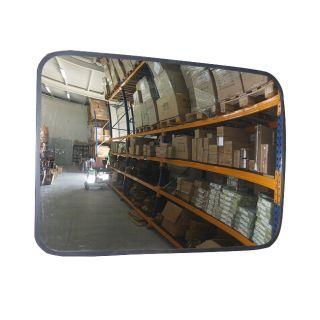 Зеркало обзорное для помещений прямоугольное  (Чехия)