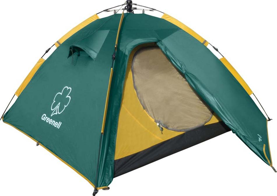 GREENELL КЛЕР 3 V2 автоматическая трёхместная палатка