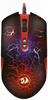 Акция!!! Проводная игровая мышь LavaWolf оптика,8 кнопок,100-3500dpi