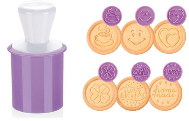 Печать для печенья DELICIA 6 веселых мотивов 630111