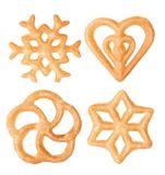 Формочки для вафельного печенья DELICIA 4 шт 630048