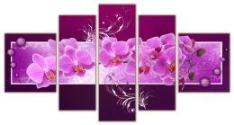 орхидея веточка