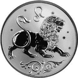 2 рубля 2005 г. Лев