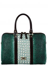 Зелёная сумка Gilda Tonelli