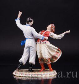 Украинский танец, Volkstedt, Германия, сер 20 в., артикул 02221