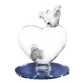 "Фигура ""Сердце с птицами"" (на зеркале)"