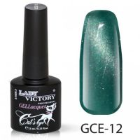 Гель-лак GCE-12 «Кошачий глаз» Lady Victory 7,3 мл.