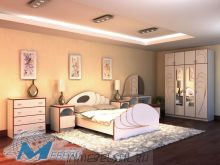 Спальня  Жемчуг -2 (с матрацом)