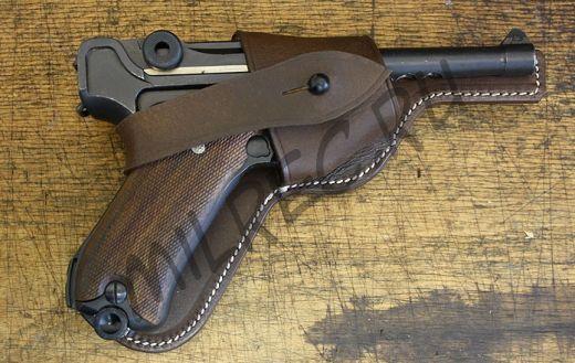 Кобура открытая Luger P08 (качественная реплика)