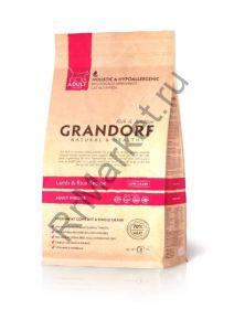 GRANDORF Lamb & Rice Adult Indoor , ягнёнок с рисом для домашних кошек