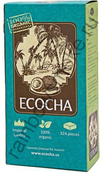 Уголь для кальяна Ecocha Flat (324 шт)