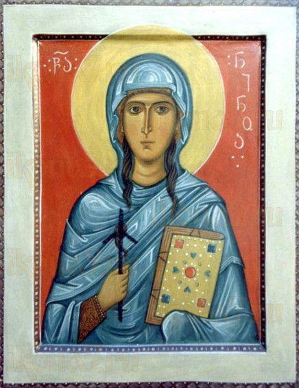 Икона Нина, равноапостольная (рукописная)