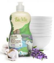 Bio-Mio средство для мытья посуды Bio-Care с эфирным маслом лаванды 450 мл