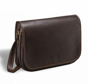Кожаная сумка через плечо BRIALDI Cambridge (Кембридж) brown