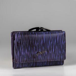 Кошелек женский 1501150; кожа; пурпурный
