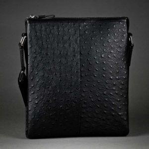 Планшет мужской 41ПМК_68032_40_1302П; кожа; черный