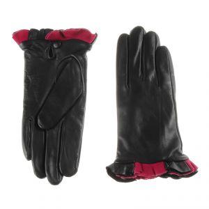 Перчатки женские 02104715378_01; кожа; черный (Размер 8)