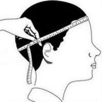 Как померить размер головы