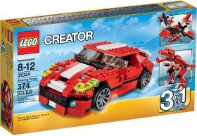 Lego Creator 31024 Красный мощный автомобиль #