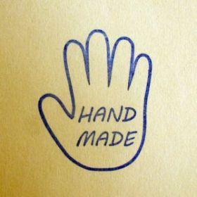 Штамп силиконовый 174 HANDEMADE ладошка