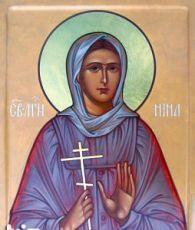 Икона Нина Лальская (рукописная)