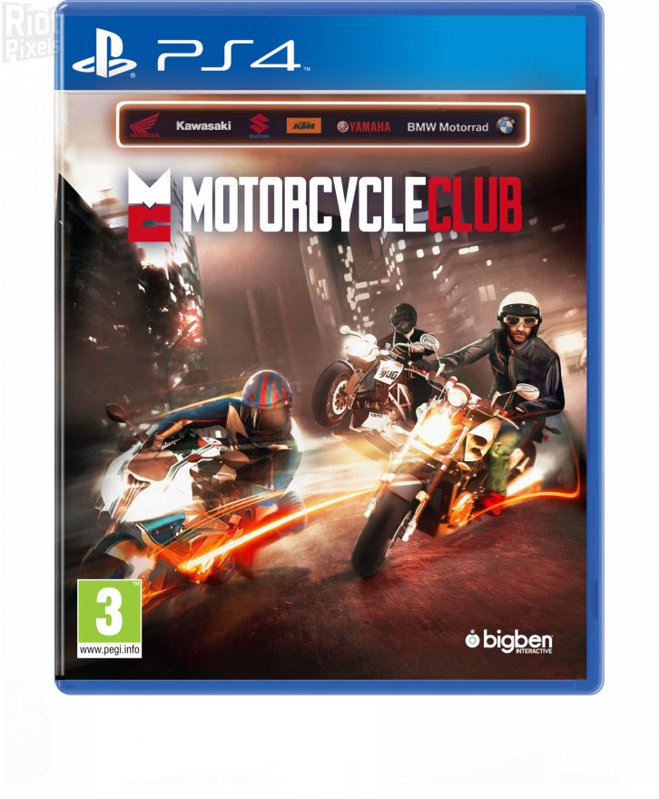 Игра Motorcycle Club (PS4)