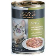 Edel Cat Нежные кусочки в соусе с индейкой и печенью (400 г)
