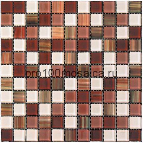 WL-08 (KW-808) стекло 25,8*25,8. Мозаика серия ETHNIC, 300*300*4 мм (NATURAL)