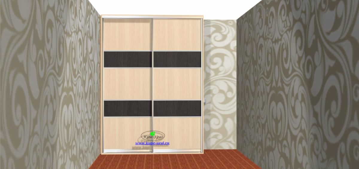Встроенный шкаф купе на Куйбышева в спальню