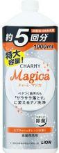 LION Charmy Magica Пенящееся средство для мытья посуды сочный апельсин 1000 мл