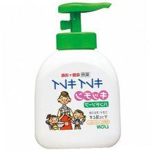 LION Kirei Kirei Жидкое мыло для рук антибакт.для рук для применения на кухне с апельсином 250 мл