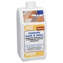HG Средство для мытья и придания блеска ламинату, 1 л