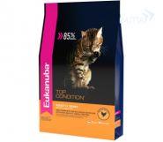 Eukanuba Top Condition Корм для взрослых кошек с домашней птицей (2 кг)