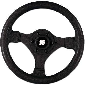 Руль (рулевое колесо, штурвал) V.45B (613024) диаметром 280 мм. черного цвета