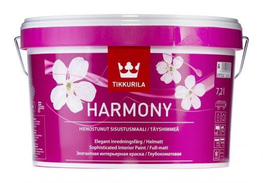 Краска для стен Tikkurila Harmony 9 литров