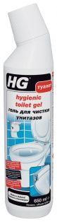 HG Гель для чистки туалета.