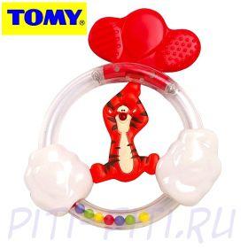 TOMY Disney. Погремушка-прорезыватель с шариками, в ассортименте