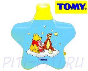"""TOMY Disney. Ночник музыкальный с проекцией """"Винни"""""""