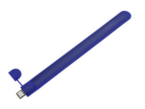 4GB USB-флэш накопитель usbsouvenir U606A браслет синий