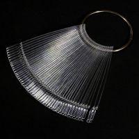 Палитра-дисплей для лаков (прозрачная) на кольце