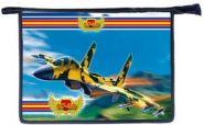 """Папка А4 на молнии """"Су-30"""" картон объем (арт. 31ш4) 314332"""