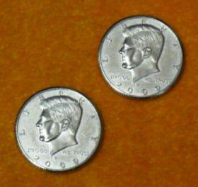"Double Side Half Dollar (""решка"")"