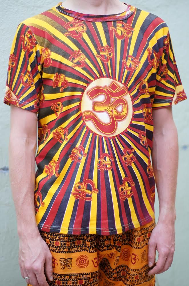Мужская футболка Символ ОМ