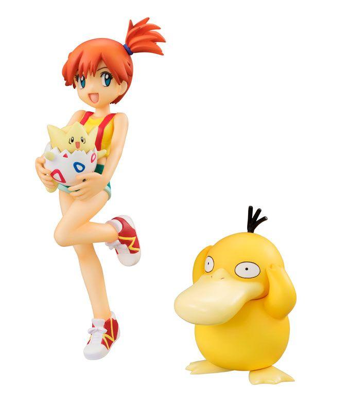 Фигурка Pokemon: Misty & Togepi & Psyduck