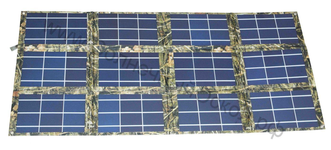 Солнечная панель «СветОК 70-12» 70 ватт 12 вольт (мобильная, раскладная)