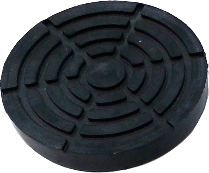 Резиновая накладка на лапу подъемника ПЛД-3 старого образца  (140мм)