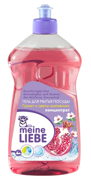 Meine Liebe гель для мытья посуды Гранат и цветы шиповника 500 мл