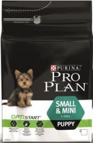 PRO PLAN PUPPY SMALL для щенков мелких и карликовых пород курица и рис 7 кг