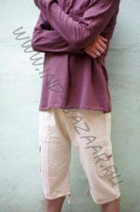Светлые мужские шорты из органического хлопка (СПб)