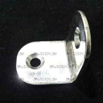 Уголок фиксации неподвижных стёкол хром металл